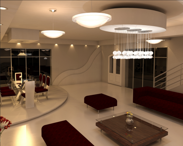 Rendering pro of the week ala a ja far render them for 10 living room cafe by eplus
