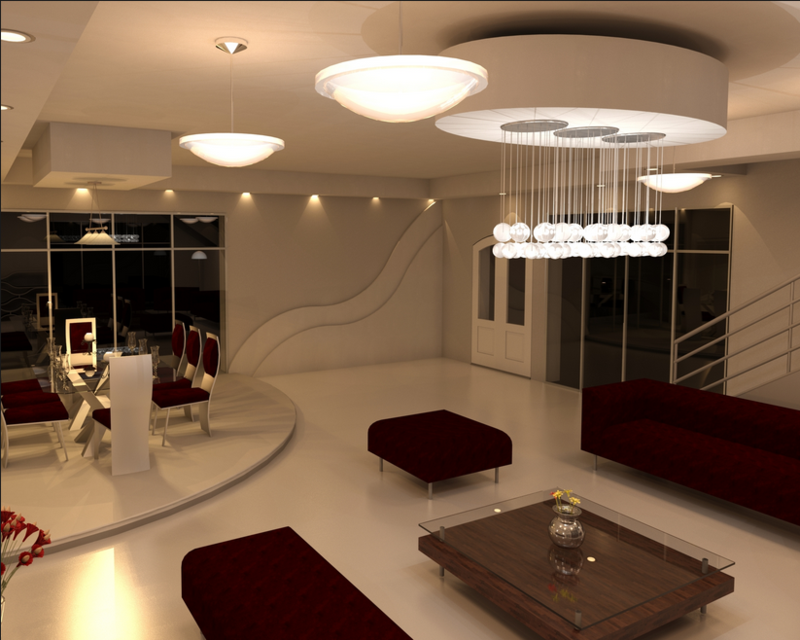 Ala'a Ja'far Home Interior Rendering