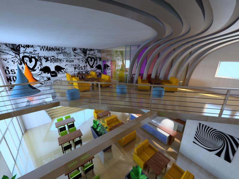 Mazjelova College Renovation_Canteen 2