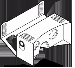 VR Goggle Illustration 250