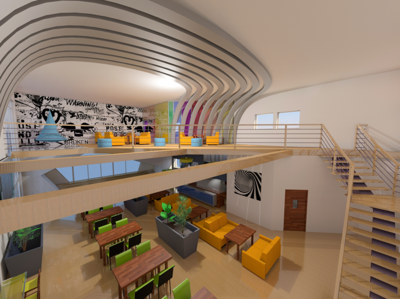 Majzelova College Renovation_Canteen