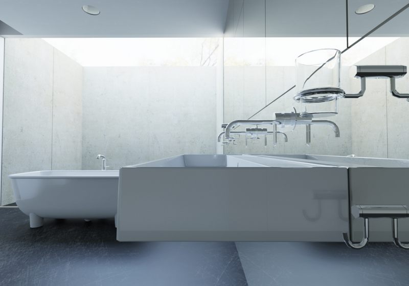 Final Bathroom Rendering