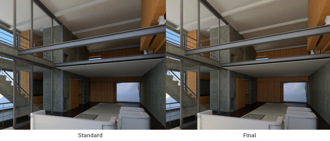 Interior render too dark revit - Revit exterior rendering settings ...